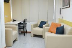 Ambiente de la suite para visitantes