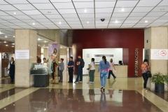 Lobby del HCC (entrada principal)